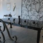 Table metal mobilier d'art Toulouse acier FAS
