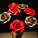 roses objet de décoration ferronnerie toulouse