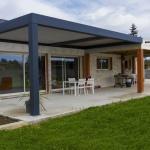 Pergola bioclimatique lames orientables sur mesure Toulouse