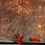 tableau texte objet de décoration ferronnerie toulouse