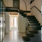 Escalier métal, verrière acier et coursive intérieure by FAS Toulouse