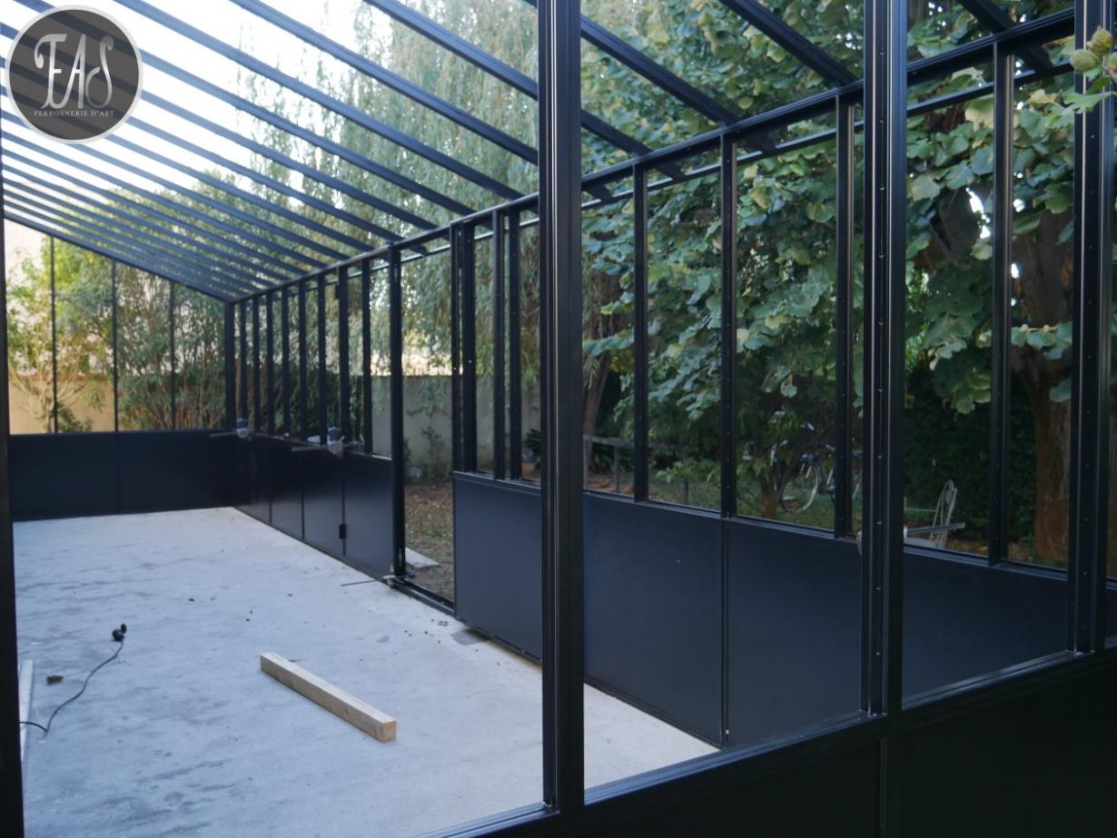 Veranda Menuiserie Metal Toulouse Fabrication Sur Mesure Ferronnerie D Art Sourrouille