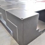 table basse metal mobilier d'art Toulouse acier fer metal inox fer forgé FAS