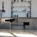 Mobilier haut de gamme, metal création mobilier d'art Toulouse par FAS