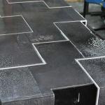 Table création haut de gamme, metal mobilier d'art Toulouse FAS