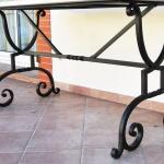 Table metal mobilier d'art Toulouse FAS