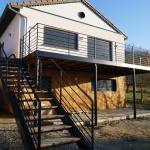 Terrasse Métallique Coursive et escalier en acier thermolaqué