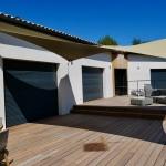 Voile d'ombrage, Voile australienne, Toile Pergola Toulouse,  Voile de protection solaire, Point de vente et installateur agréé Fabrication sur mesure d'entoilage précontrainte Qualité Profes