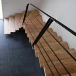 Escalier sur mesure limon acier 1/4 tournant by FAS Toulouse