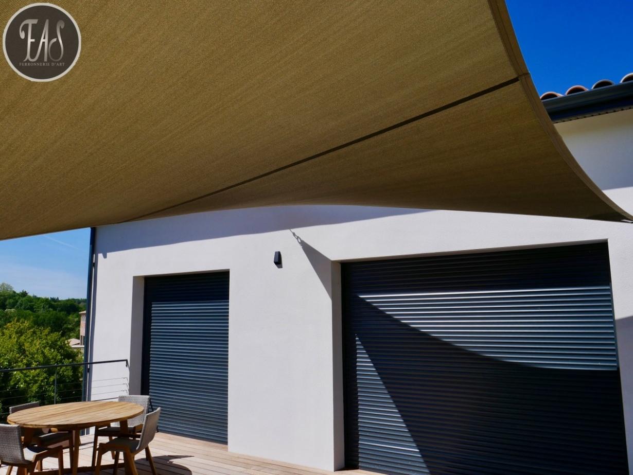 Fabriquer Sa Voile D Ombrage voile d'ombrage, voile australienne et toile pergola