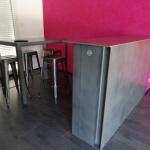 Mange debout metal mobilier d'art Toulouse acier FAS
